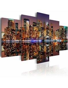 Tableau NYC REFLET DANS LE MIROIR - par Artgeist
