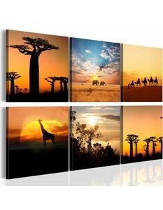 Tableau PAYSAGES AFRICAINS - par Artgeist