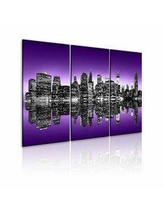 Tableau Triptyque - Avant-garde de New York - par Artgeist