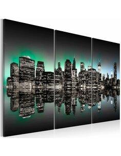 Tableau LUMIÈRES DE NEW YORK - par Artgeist