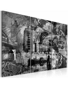 Tableau L'ESSENCE DE LONDRES Triptyque - par Artgeist