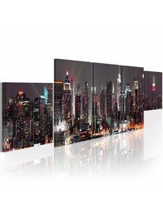 Tableau NEW YORK: GRATTE-CIELS - par Artgeist