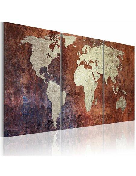 Tableau Continents D'Acier  - par Artgeist