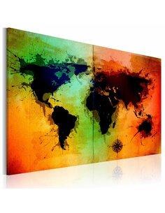 Tableau Terres Noires  - par Artgeist