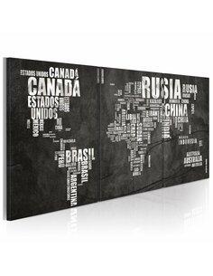 Tableau Géographie Espagnole  - par Artgeist