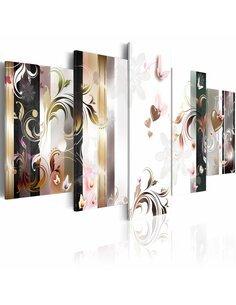 Tableau - 5 tableaux - Grâce et élégance - par Artgeist