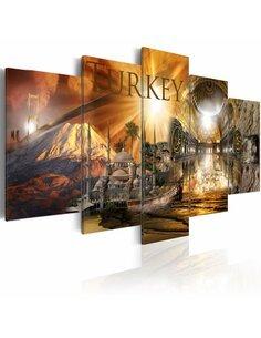 Tableau - 5 tableaux - Turquie ensoleillée - par Artgeist