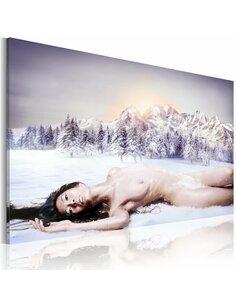 Tableau Reine des neiges  - par Artgeist