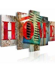 Tableau ELEMENTS OF HOME - par Artgeist