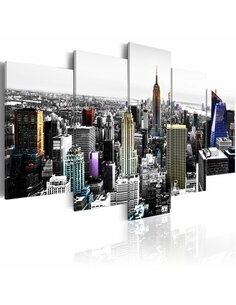 Tableau - 5 tableaux - City of colors New York Artgeist