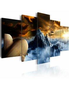 Tableau - 5 tableaux - Over the clouds - par Artgeist