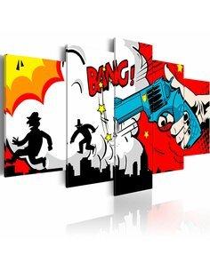 Tableau - 5 tableaux - Bang, bang! - par Artgeist