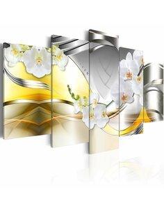 Tableau FLOWERS OF FUTURE - par Artgeist