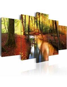 Tableau SILENT FOREST - par Artgeist