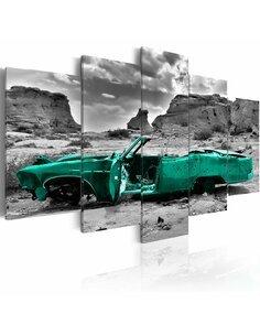 Tableau GREEN CAR - par Artgeist