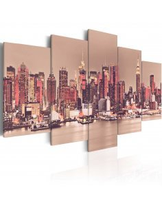 Tableau NY THE CITY THAT NEVER SLEEPS - par Artgeist