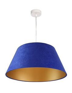 Suspension Bleu intérieur Or BIG BELL - par BPS Koncept
