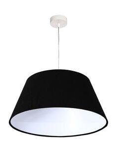 Suspension Noir intérieur Blanc BIG BELL - par BPS Koncept