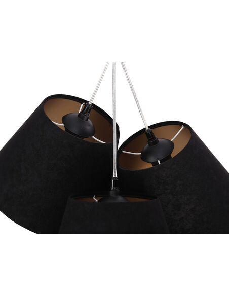 Suspension CENNIK Noir intérieur Or - par BPS Koncept