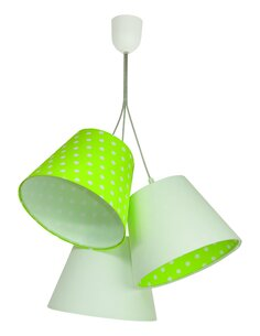 Suspension CENNIK Blanc intérieur Vert - par BPS Koncept