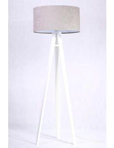 Lampadaire KAMELIA white Gris et Blanc - par BPS Koncept