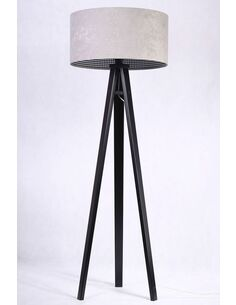 Lampadaire CHEERFUL check gray Gris - par BPS Koncept