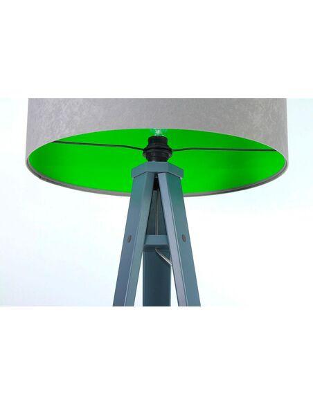 Lampadaire KAMELIA green Gris et Vert - par BPS Koncept