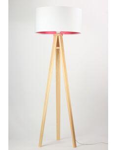 Lampadaire LILY pink Blanc et Rouge - par BPS Koncept