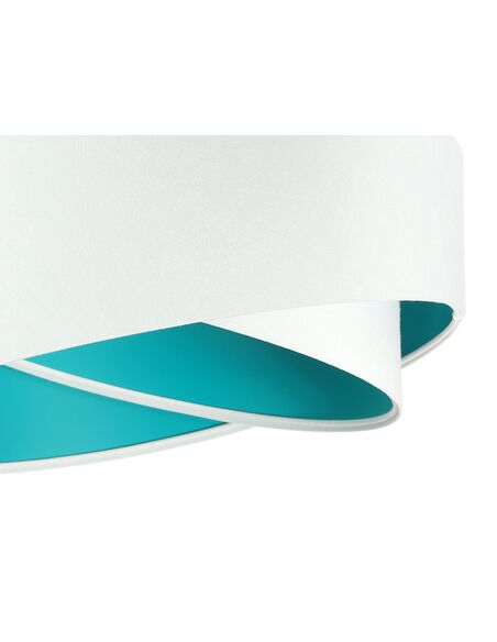 Suspension ASYMETRIC Blanc et Vert - par BPS Koncept