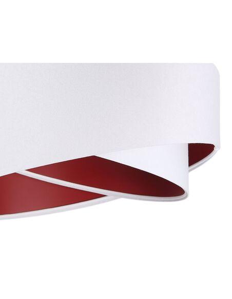 Suspension ASYMETRIC Blanc et Rouge - par BPS Koncept