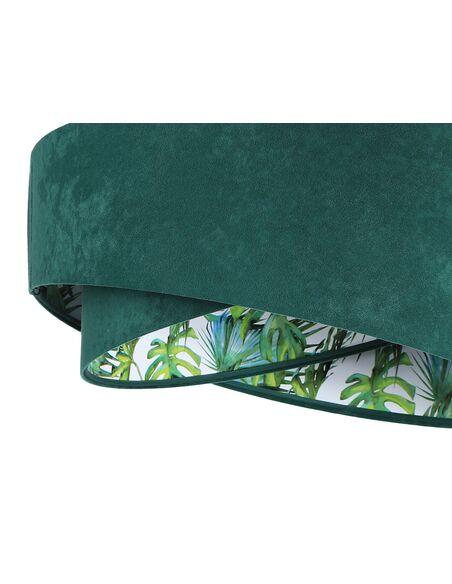 Suspension ASYMETRIC Vert et Multicolore - par BPS Koncept