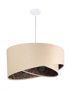 Suspension ASYMETRIC Beige et Multicolore - par BPS Koncept