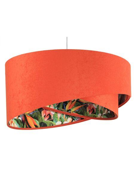 Suspension ASYMETRIC Orange et Multicolore - par BPS Koncept