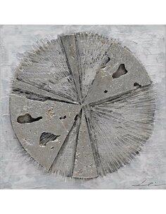 Tableau peint Aluminium ROUE  - par Arte Espina