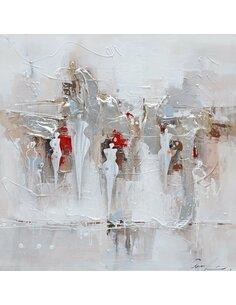 Tableau peint CONTOUR - par Arte Espina