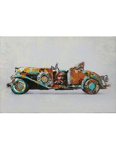 Tableau peint huile VOITURE  - par Arte Espina