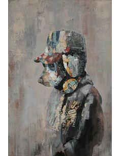 Tableau peint huile MANHATTAN - par Arte Espina