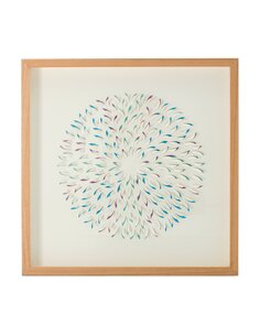 Images papier Art Cercle II x 60 cm 60 cm Modernes Arte Espina