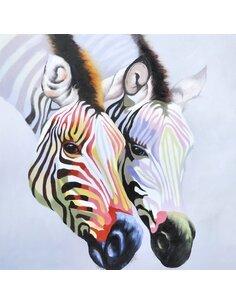 Tableau peint huile STEPPE I  - par Arte Espina