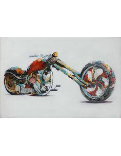 Tableau peint huile VITESSE  - par Arte Espina