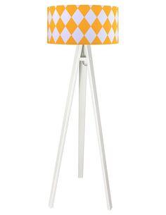 Lampadaire Orange et Blanc collection CLASSIC - par BPS Koncept