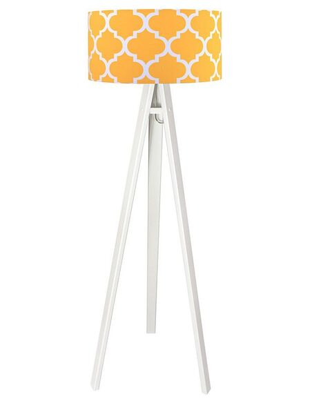 Lampadaire Orange et Blanc collection CLASSIC - par BPS Koncept
