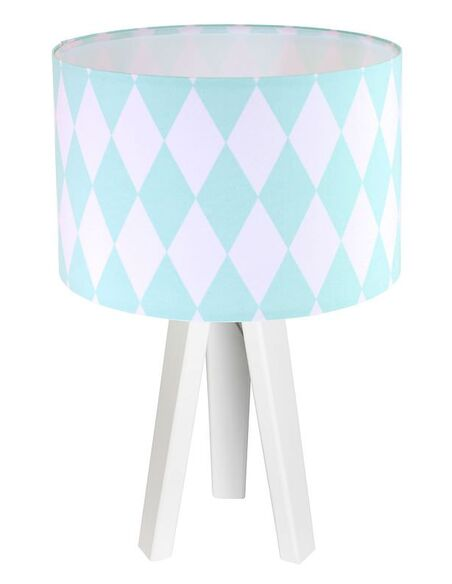 Lampe de chevet Bleu et Blanc Collection CLASSIC - par BPS Koncept
