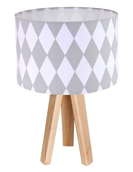 Lampe de chevet Bleu et Bois Collection CLASSIC - par BPS Koncept