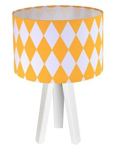Lampe de chevet Orange et Blanc Collection CLASSIC - par BPS Koncept