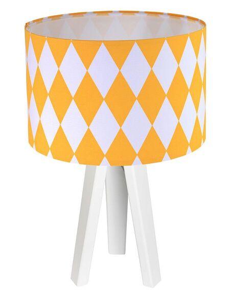 Lampe de chevet Orange et Blanc Collection CLASSIC - par BPS Koncept
