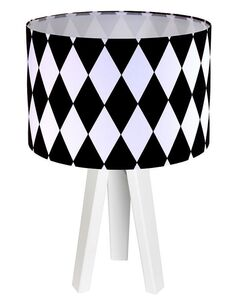 Lampe de chevet Noir et Blanc Collection CLASSIC - par BPS Koncept