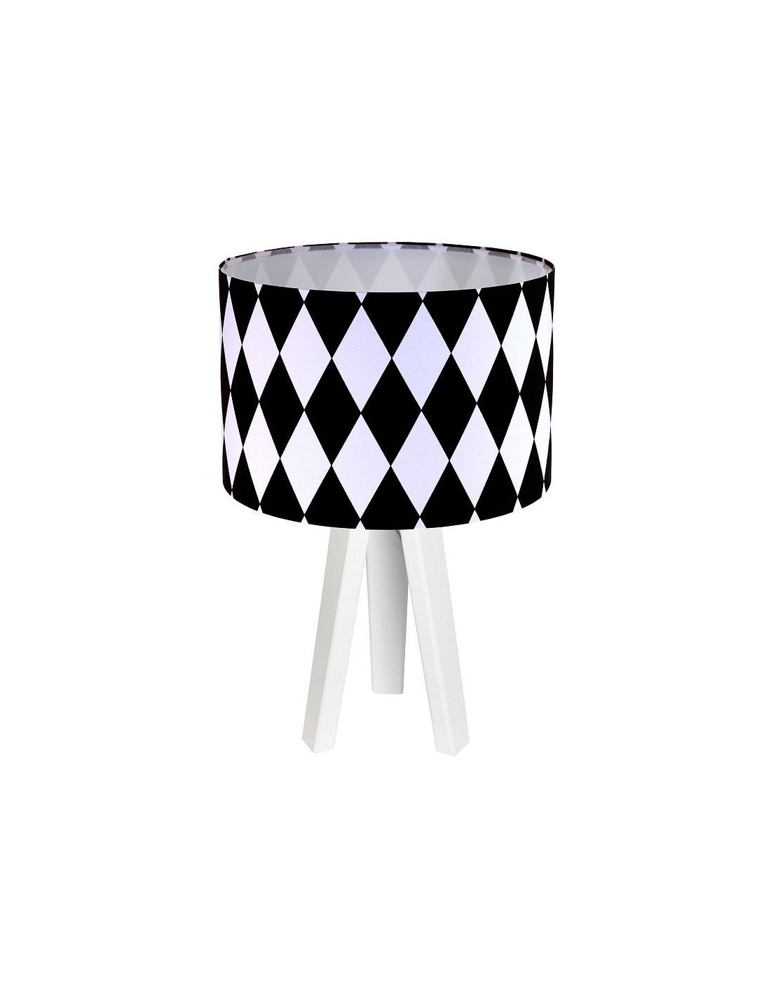 De Collection Chevet Koncept Et Lampe Noir Blanc ClassicBps ARjL54