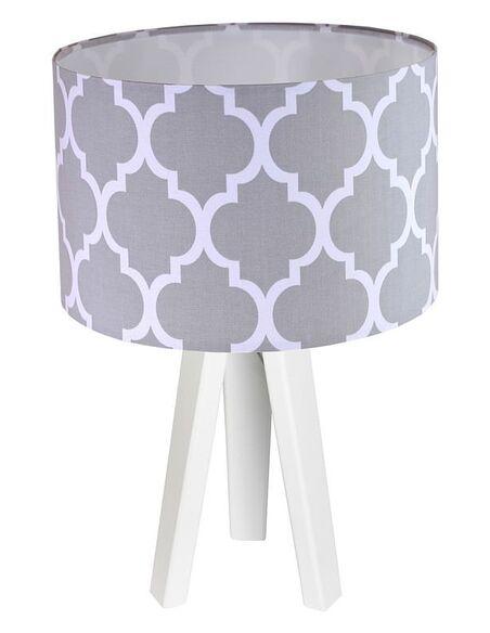 Lampe de chevet Gris et Blanc Collection CLASSIC - par BPS Koncept