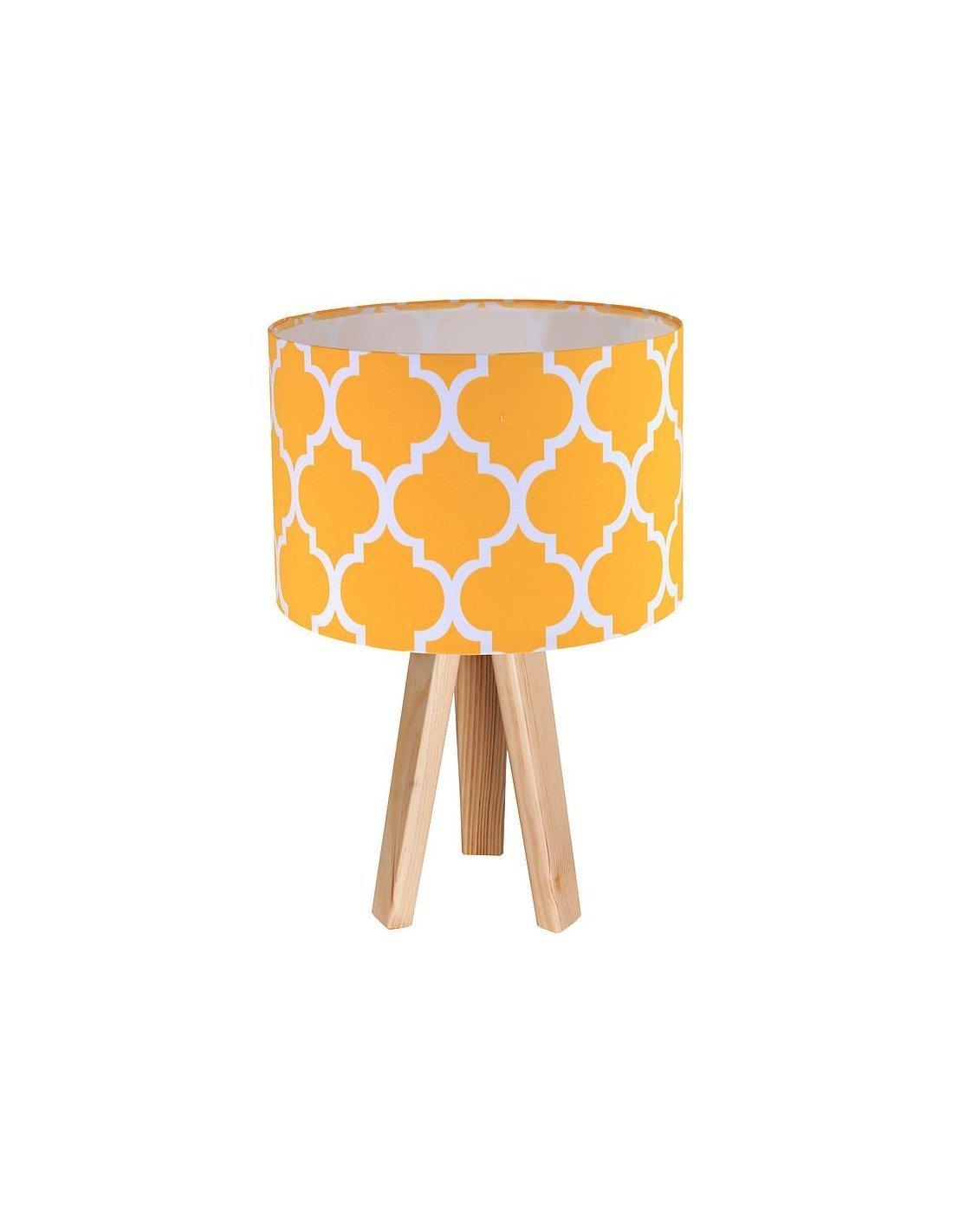 De Orange Collection Lampe Et Bois Chevet ClassicBps Koncept SzMVUp